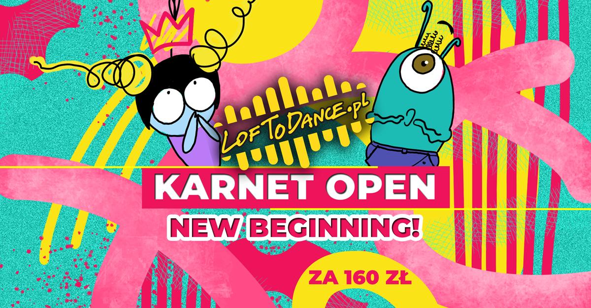 KARNET OPEN NEW BEGINNING!