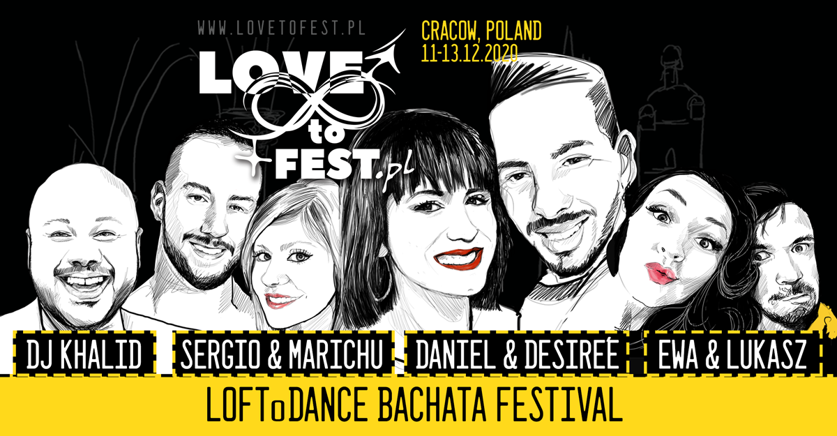 LOVEtoFEST'20 with Daniel y Desiree - sklep Loftodance