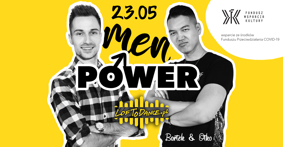 Men Power workshops - sklep Loftodance