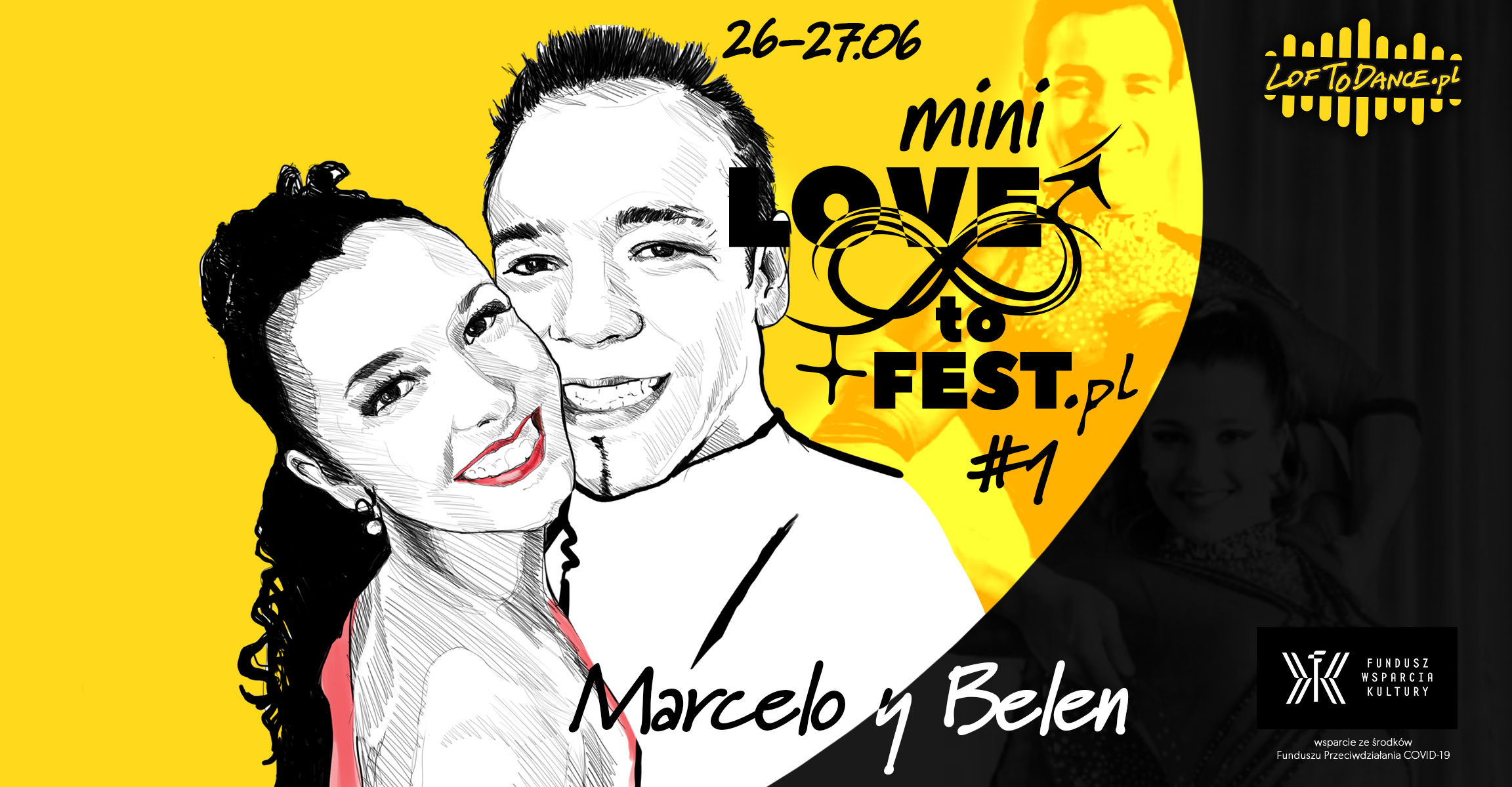 Mini LOVEtoFEST #1 with Marcelo y Belen - sklep Loftodance