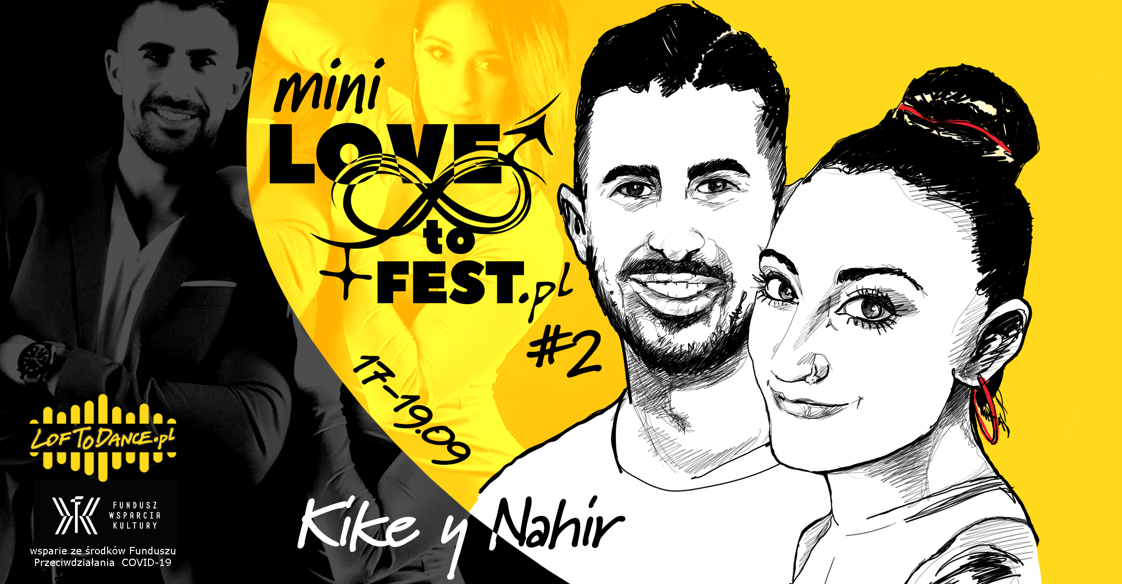 Mini LOVEtoFEST #2 with Kike y Nahir - sklep Loftodance